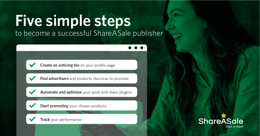 Five Steps to Becoming a Successful ShareASale Affiliate