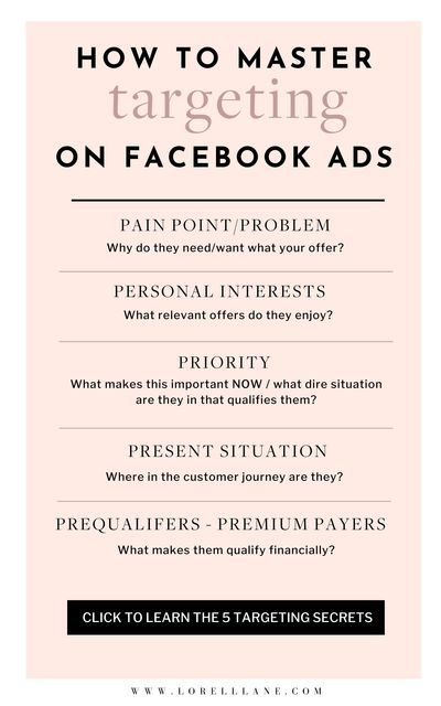 5 Facebook Ad Targeting Secrets To Increase Your Conversion Rate