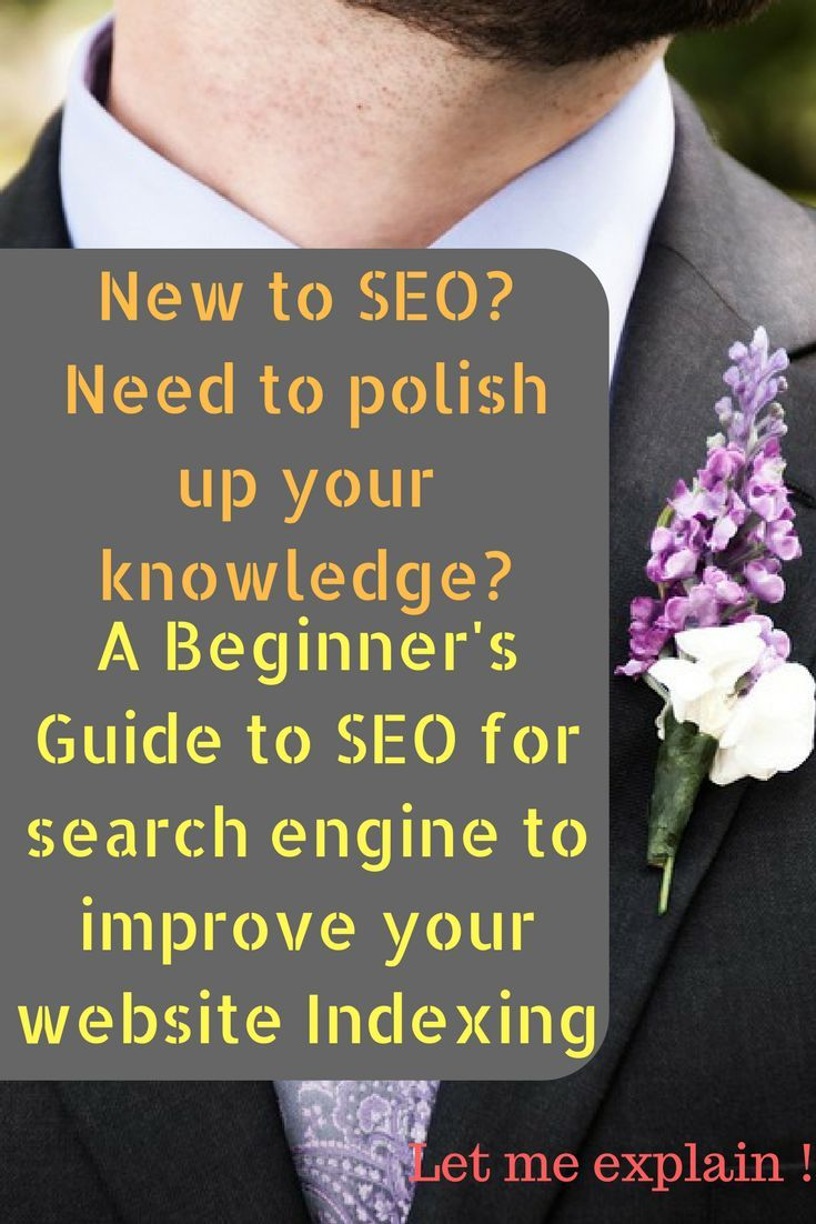 A Beginner's Guide to SEO for search engine with your Website Indexing