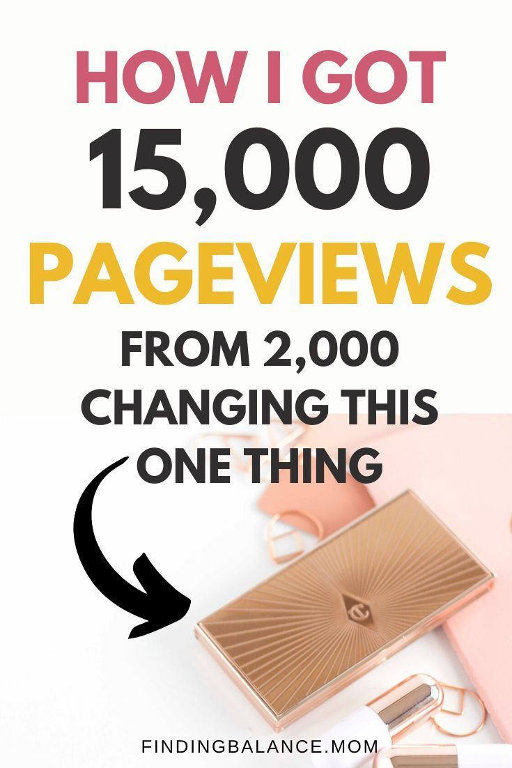 How to Increase Blog Traffic Fast [750% in 1 Month] With One Simple Pinterest Hack - FindingBalance.