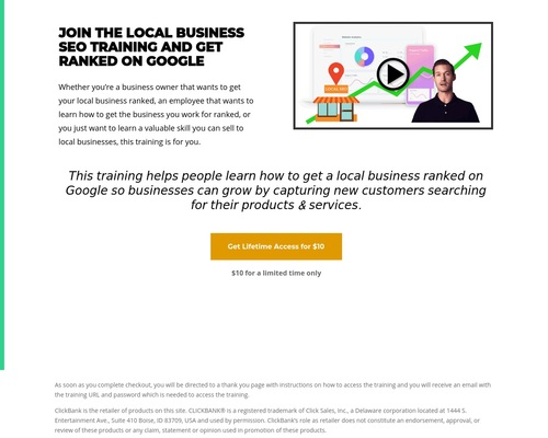 Local Business SEO Training Click Bank - Business Growth Solutions