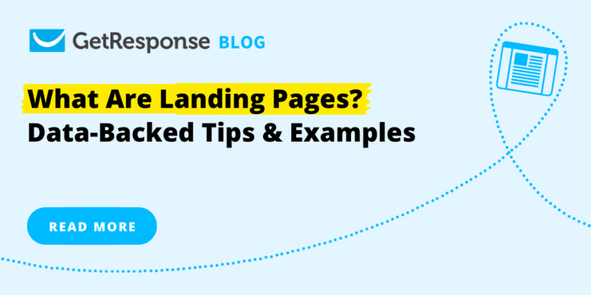 What Are Landing Pages? Data-Backed Tips & Examples
