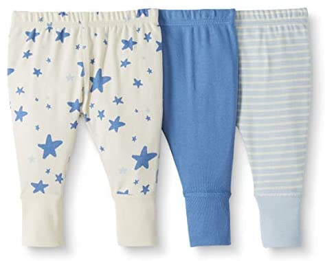 Moon and Back by Hanna Andersson Boys' 3 Pack Jogger
